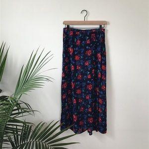 Long Floral Vintage Skirt